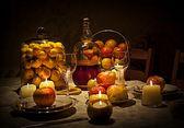 Apple diet — Stock Photo