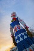 Doll of Shrovetide — Stock Photo