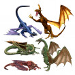 Dragons - Stock Photo