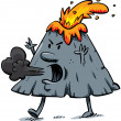 Angry Volcano — Stock Photo