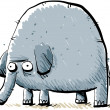 Cartoon Elephant — Stock Photo