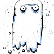 Stock Photo: Floating Ghost