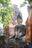 Buddha in Ayutthaya — Stock Photo