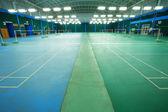 Badminton court — Stock Photo