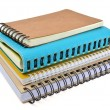 Stock Photo: Ring binder book