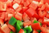 Bellpepper slices — Stock Photo