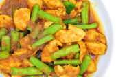 Chilli chicken curry — Stock Photo