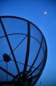 Komunikační satelit — Stock fotografie