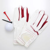 Golf Glove and Ball — Stock Photo