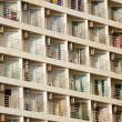 Many balconies — Stock Photo