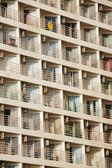 Many balconies — Stock Photo