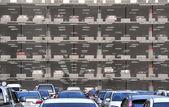 Parque de estacionamento — Foto Stock