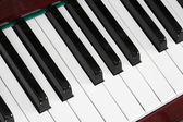 Klaviertasten — Stockfoto