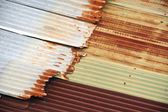 Rusty Sheet Metal Texture — Stock Photo