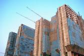 Condominium Construction Site — Foto de Stock
