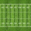 Stock Photo: Americfootball field