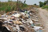 Illegal Roadside Dumping — Stok fotoğraf