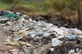 Illegal Roadside Dumping — Stock Photo