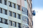 Tall Buildings Cleaners — Stock Photo