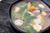 Spicy Soup Thai Style — Stock Photo