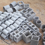 Concrete Culverts — Stock Photo