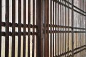 Lath Fence — Stock Photo