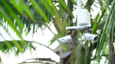 Security camera — Stock Video