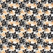 Padrão geométrico de abstrato sem emenda — Vetor de Stock