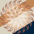 Royalty-Free Stock Vectorielle: Ornamental round lace pattern