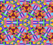 Geometric seamless abstract pattern — Stok Vektör