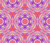 Geometrische naadloze abstracte patroon — Stockvector