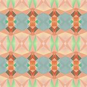 幾何学的三角形の流行に敏感なレトロな背景 — ストックベクタ