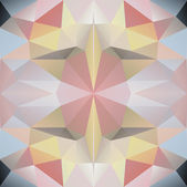 Geometric triangle hipster retro background — Stock Vector