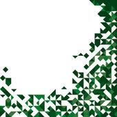 Abstrato base triangular com lugar para texto — Vetor de Stock