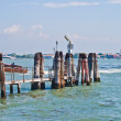 Wharf in Venice - Stockfoto