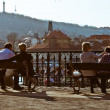 Landscape of Prague - Stockfoto