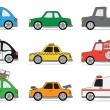 Car icon set — Stock Vector #13937699