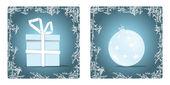 Christmas set of 2 — Stock Vector