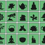 Relax symbols — Stock Vector #41370735