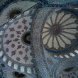 Stock Photo: Blue Mosque Ceiling #1
