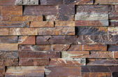 Flagstone Brick Wall Pattern #2 — ストック写真