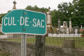 Cemetery Humor — Stock Photo