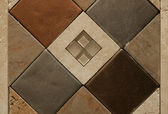 Decorative Wall Tile Inlay #3 — Photo
