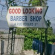 Stock Photo: Barber Shop Sign