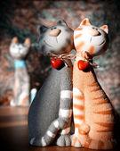 Cat's love — Stock Photo