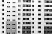 The panel house — Stock Photo