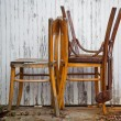 Old chairs — Stock Photo #12738639