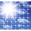 Illustration of solar panels — Stock Photo #12738839