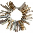 bunch of keys — Stock Photo
