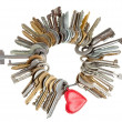 Key to heart — Stock Photo #12739001